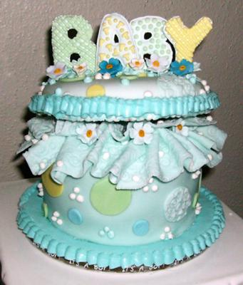 gift for baby cake