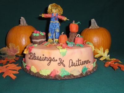 blessings of autumn cake