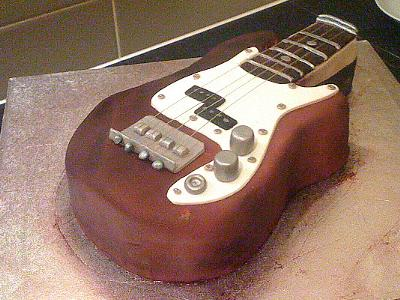Guitar Cakes httpwwwcakedecoratingcornercom