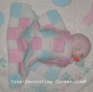 how to make straight lines on fondant
