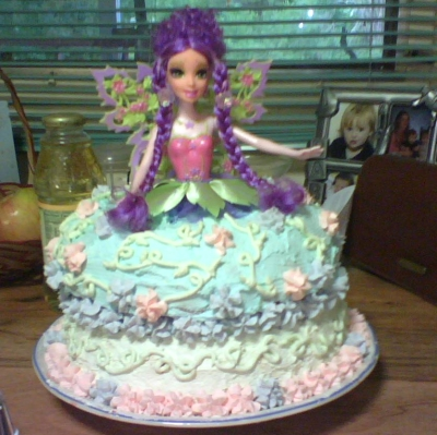 fairytopia barbie cake