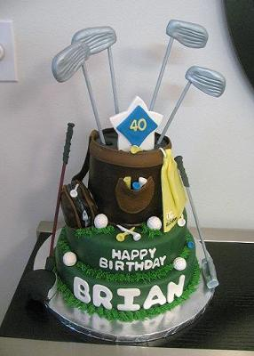 How To Make Golf Cart Cake Topper
