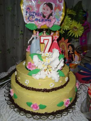 little girl's princess dream cake