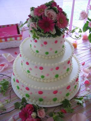 Wedding cakes decorating