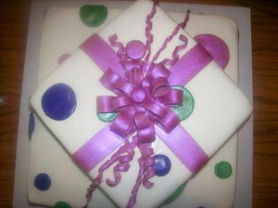 Gift Package And Box Cakes