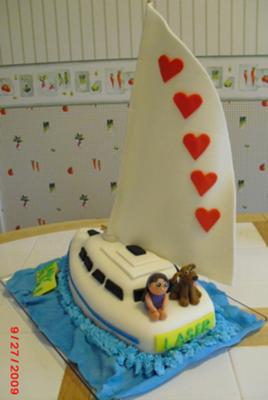 Boat Cakes http://www.cake-decorating-corner.com/