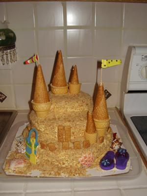 castle cakes | http://www.cake-decorating-corner/