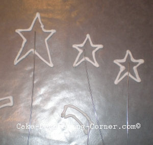 run out star outlines