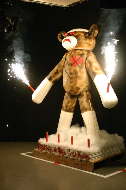 complete sock monkey cake