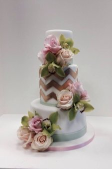 Cake Decorating Zig Zag : Karen Vazquez http://www.cake-decorating-corner.com/