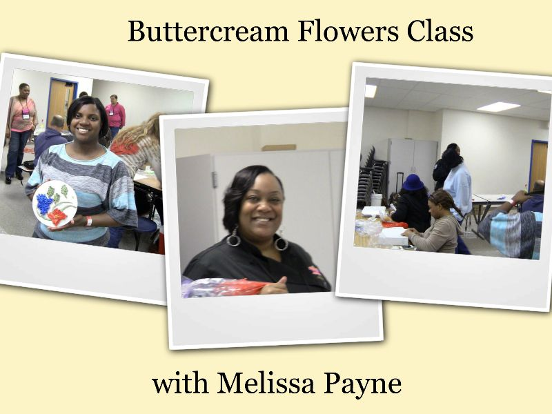 buttercream class with Melissa Payne