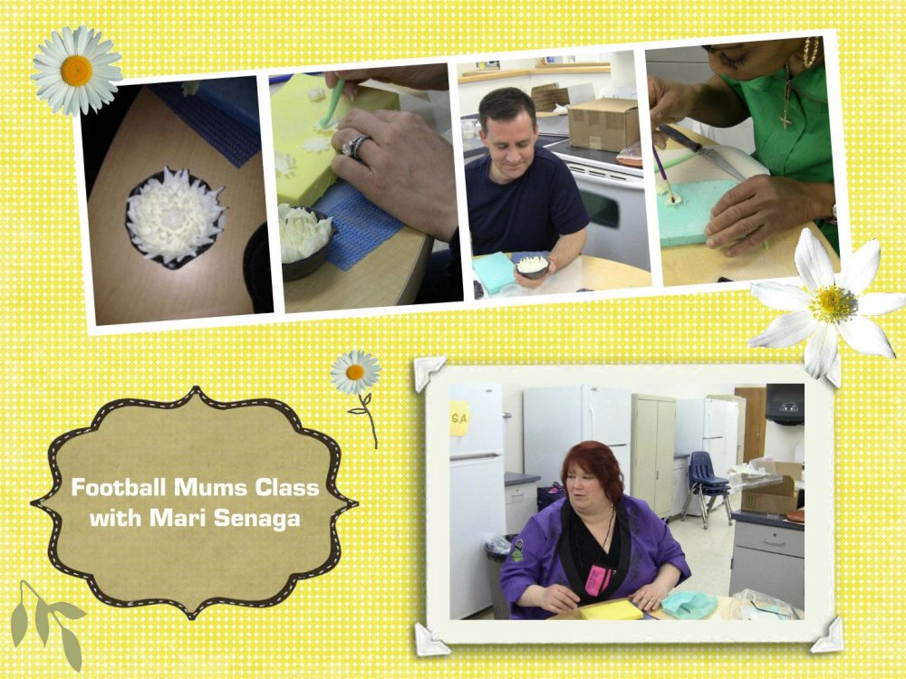 chocolate mums class with mari senaga
