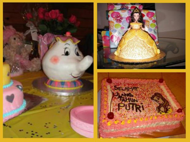 Beauty and the Beast Cakes