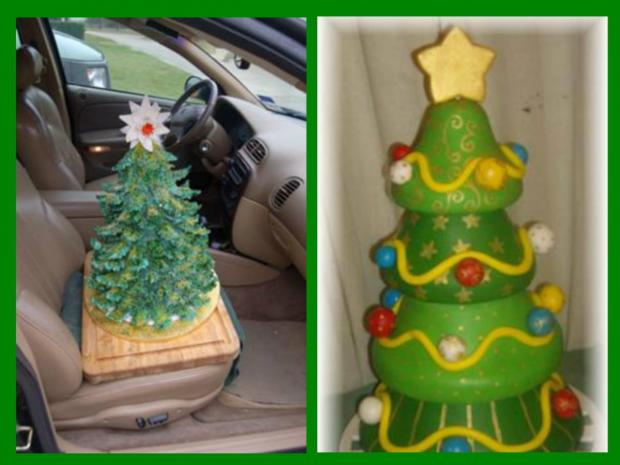 Blogs About Cake Decorating : Christmas Tree Cakes http://www.cake-decorating-corner.com/