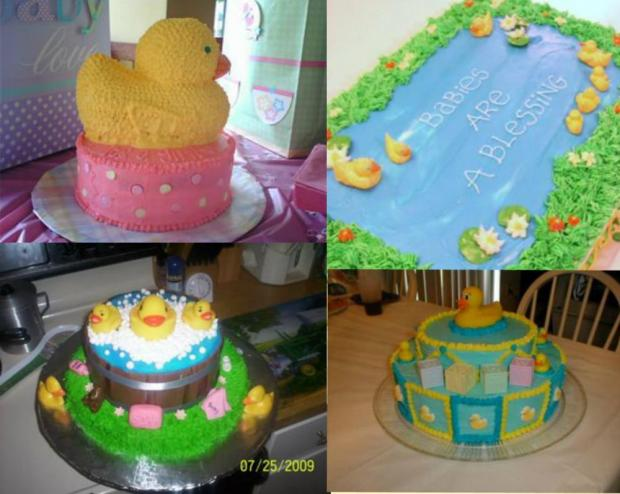 Duck Cake Collage