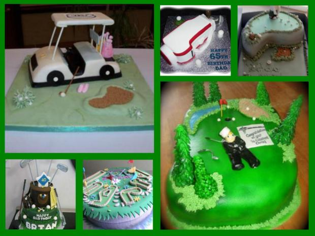 Golf Cakes Http Www Cake Decorating Corner Com