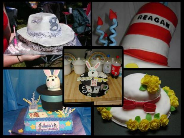 collection of hat cakes