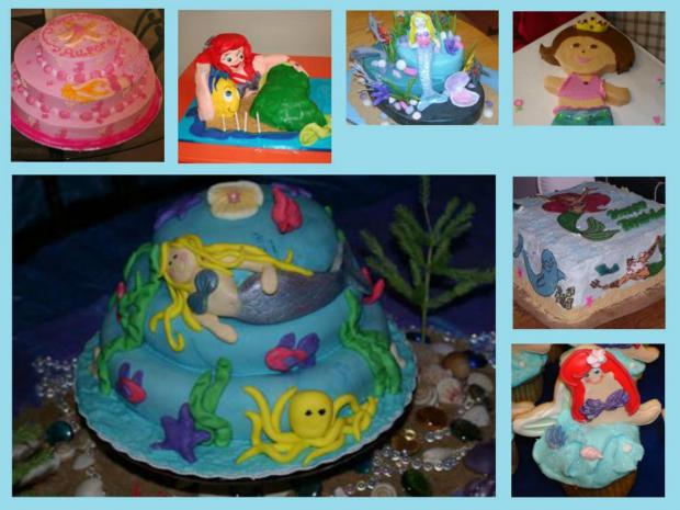 mermaid cakes collection