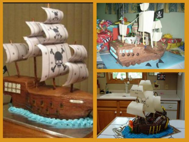 Pirate Ship Cakes Http Www Cake Decorating Corner Com