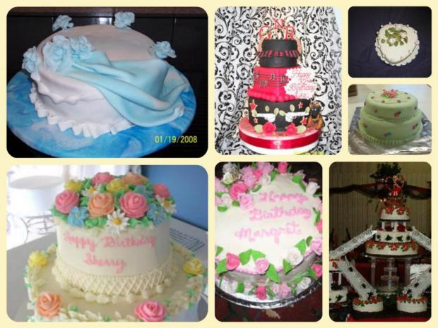gallery of rose cakes