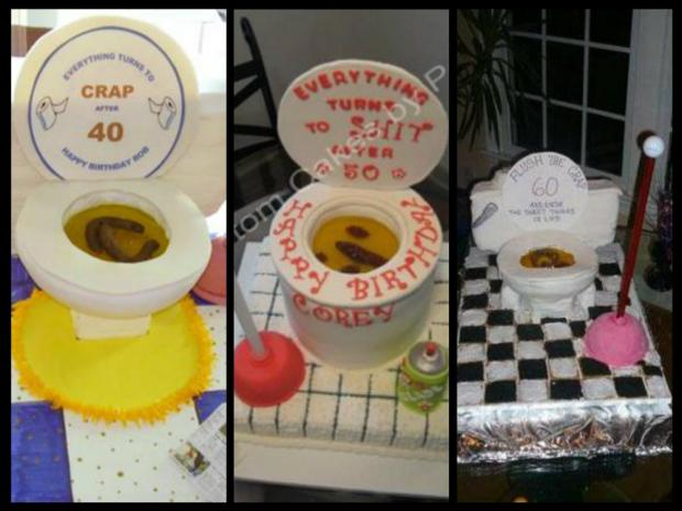 toilet cakes collection