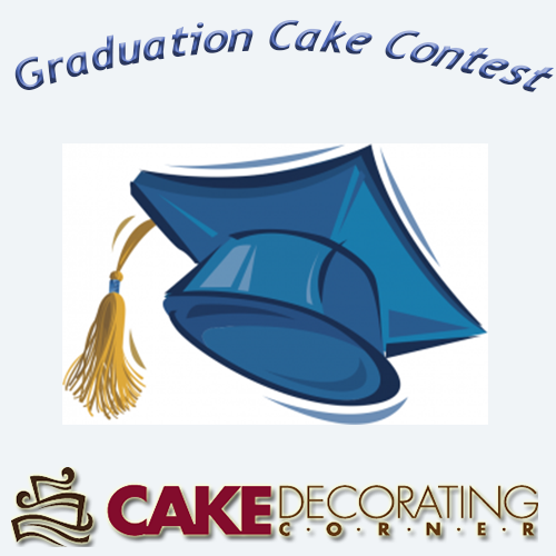 Cake Decorating Gift Certificate : Graduation Cake Contest http://www.cake-decorating ...