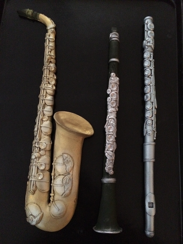 Chocolate Flute, Saxophone and Clarinet