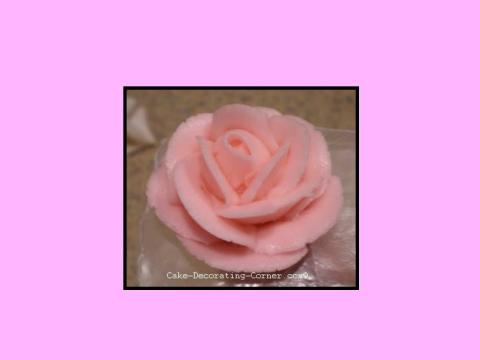 buttercream rose tutorial