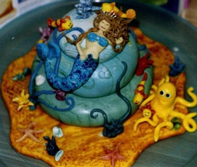 mermaid dream cake decorating