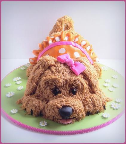 How To Make A Puppy Birthday Cake