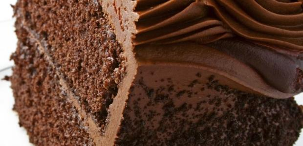 Cake with Chocolate Icing