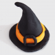 witch's hat cupcake topper