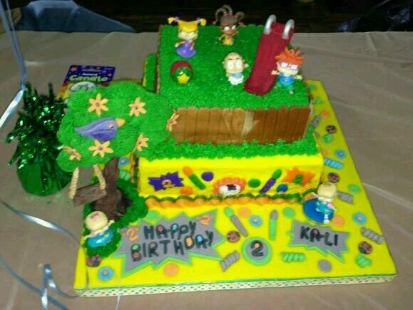 Quot Rugrats Quot Birthday Cake Http Www Cake Decorating