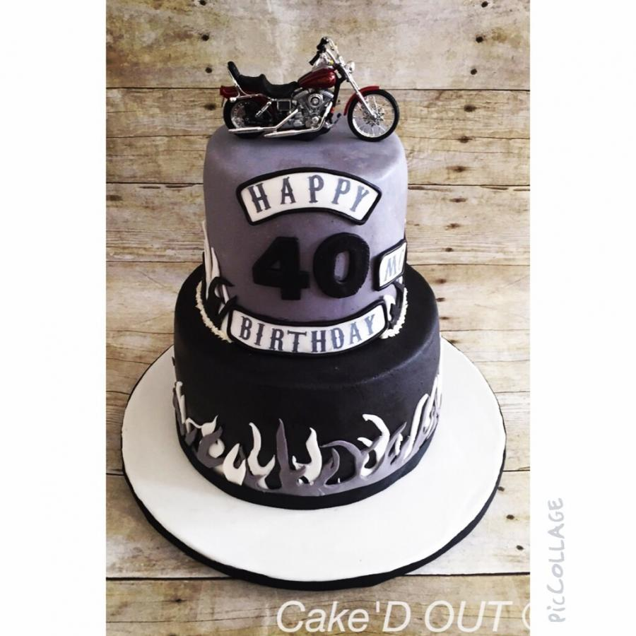 Biker birthday httpwwwcakedecoratingcornercom