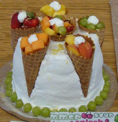 Fresh Fruit Cake Decorating Http Www Cake Decorating Corner Com